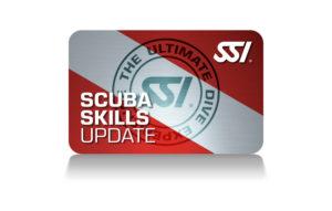 Scuba Skills Update SSI Card