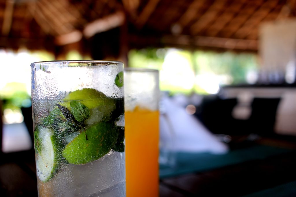 Drinks in Cozumel