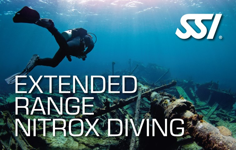 Extended Range Nitrox Diving SSI Card