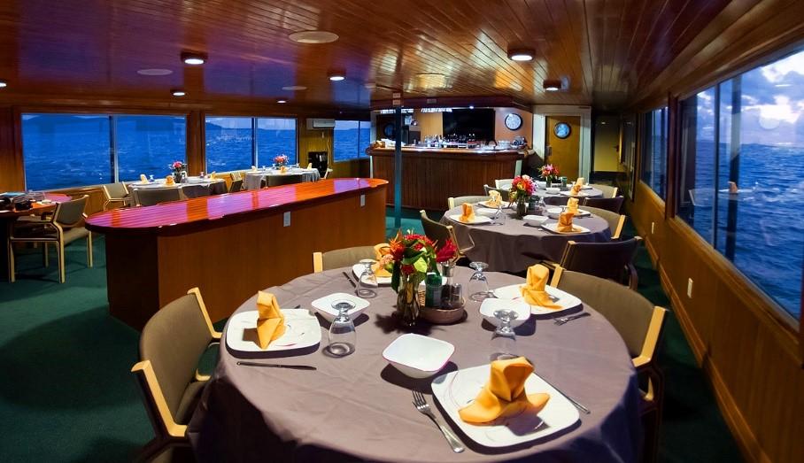 Truk Lagoon dining room