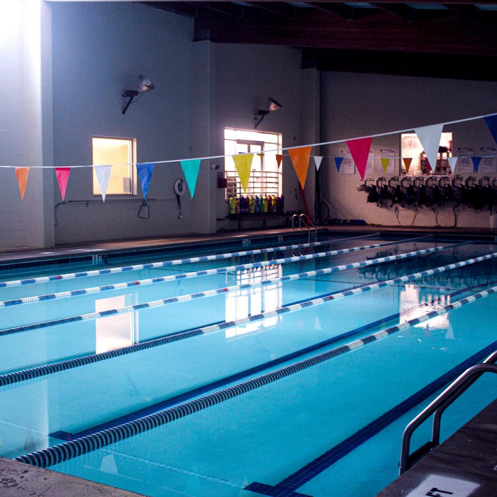 The training pool