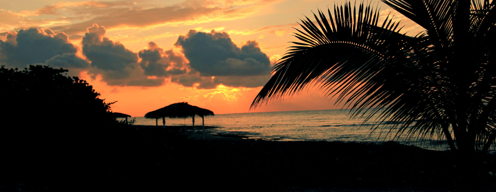 Sunset in the Caymans
